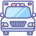 ambulance, emergency, truck icon