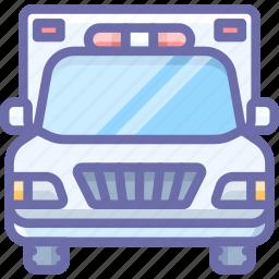 ambulance, emergency, truck icon