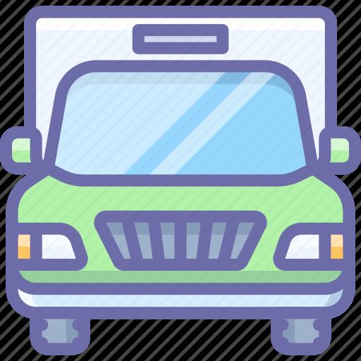 cargo, transport, truck, vehicle icon