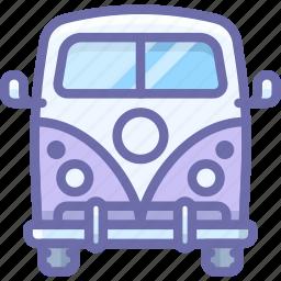 car, mini, van icon