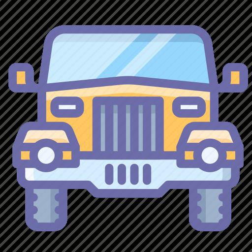 car, jeep, safari icon