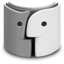 finder, metal icon