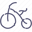 baby, bicycle icon