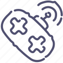 joypad, radiocontroll, rc icon