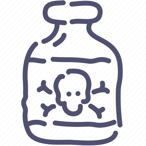 drug, medical, pharmacy, poison icon