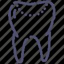 tooth, dentist, fill, teeth