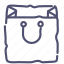 bag, package, shop, shopping icon