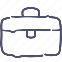 bag, equipment, suitcase, toolbox icon
