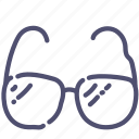 eyeglasses, glasses, read, sunglasses icon