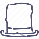 cap, clothes, cylinder, hat icon