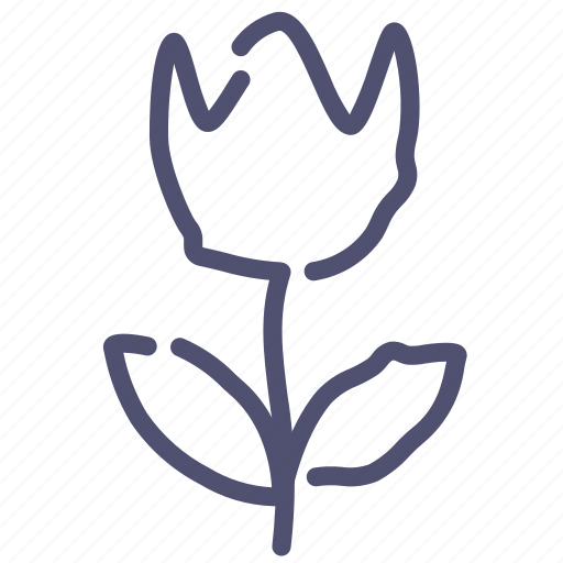 flower, present, tulip icon