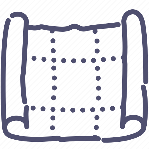 blueprint, design, drawing, scheme icon