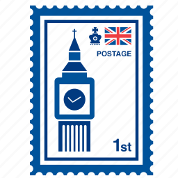 big ben, british, england, kingdom, london, stamp, united icon