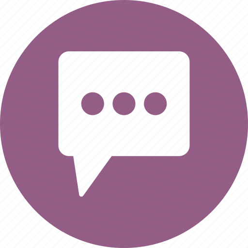 chat, sms, text icon