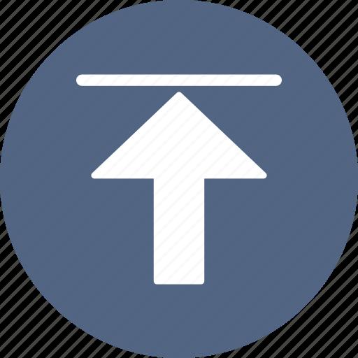 arrow, direction, upload icon