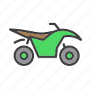 atv, bike, extreme, dirt icon