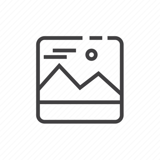 gallery, image icon
