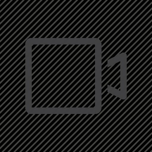 camera, video, web icon