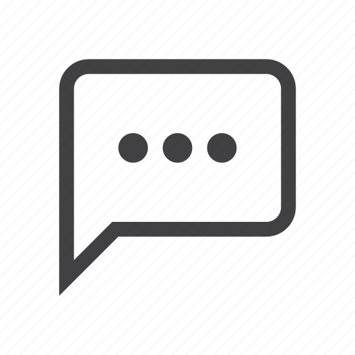 bubble, chat, forum, sms, speech icon