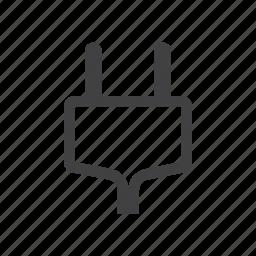 ac, plug icon