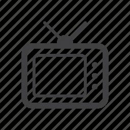 television, tv, video icon