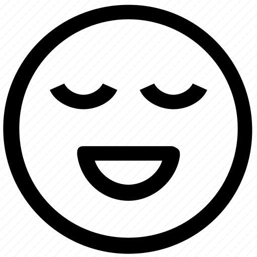.svg, calm, face, happy, smiley icon