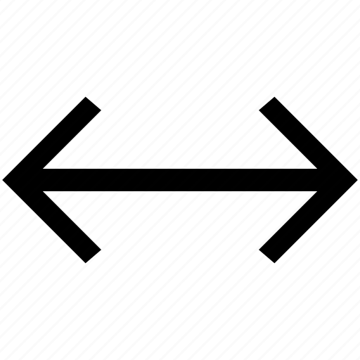 .svg, arrow, expand, two head, width icon