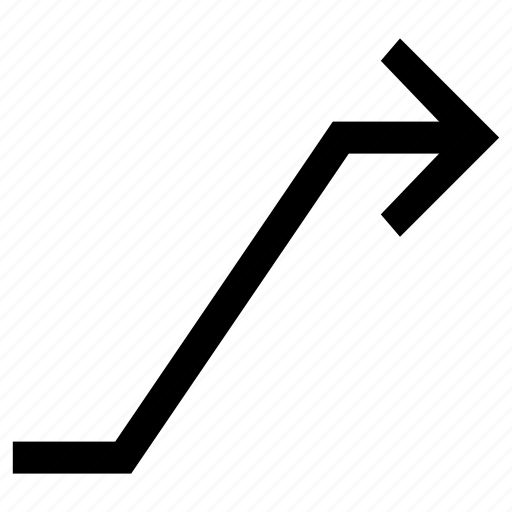 .svg, arrow, connector, draw, line icon