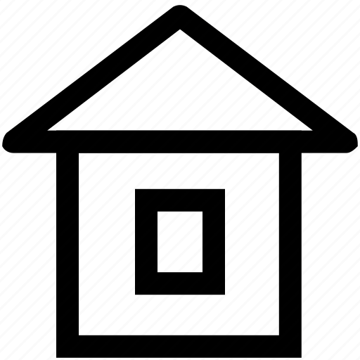 .svg, home, hut, online, web page icon