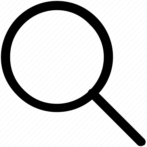 .svg, glass, magnifier, magnifying glass, zoom icon