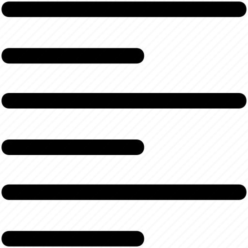 .svg, align, alignment, left, text icon