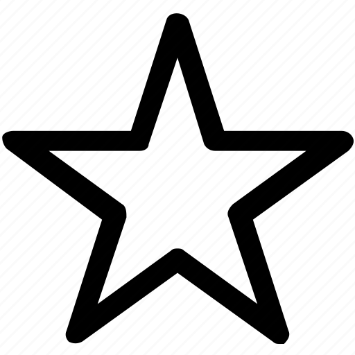 .svg, favorite sign, five point star, five pointed, star, star shape icon