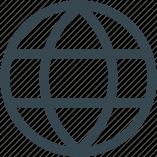 earth, global, globe, internet, online, web, website icon