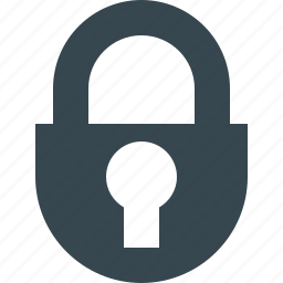 closed, lock, locked, password, protection, safety, secure icon