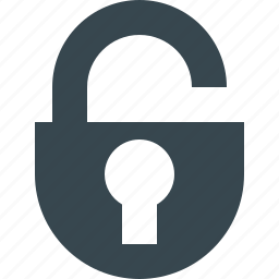 access, lock, locked, open, password, secure, security icon