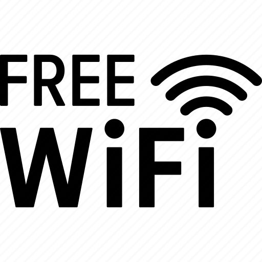 free, hotspot, internet, sign, signal, wifi, wireless icon