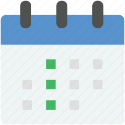 calendar, calendar date, event, schedule, time icon