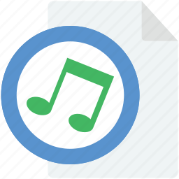 audio files, music album, music folder, songs folder, sound tracks icon