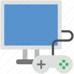 game, game stick, joypad, online game, play icon