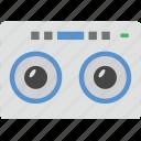 audio cassette, cassette, compact cassette, music cassette icon