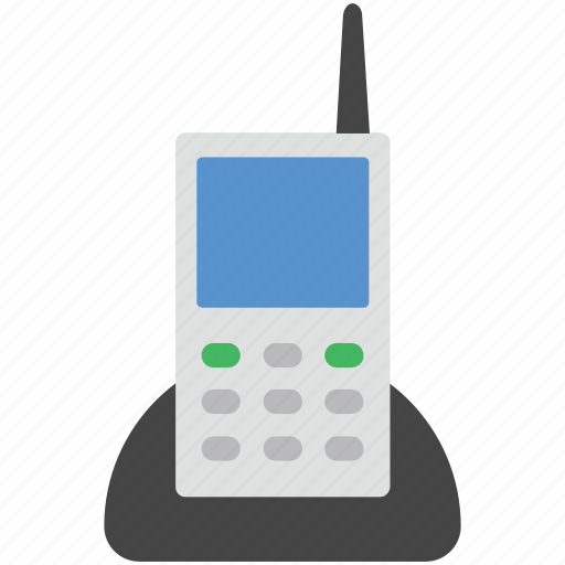 cordless phone, intercom, police radio, radio transceiver, walkie talkie icon