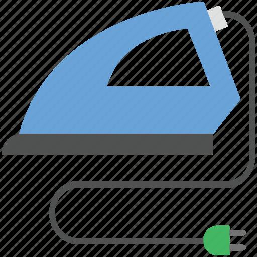 electric iron, fabric label, iron, iron tool, laundry icon