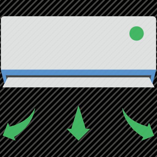 ac, air conditioner, air conditioning, indoor, split ac icon
