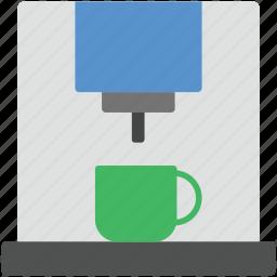 coffee maker, espresso maker, household appliance, kitchen appliance, tea maker icon