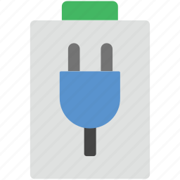 battery charge, battery charging, battery level, battery status, mobile battery icon