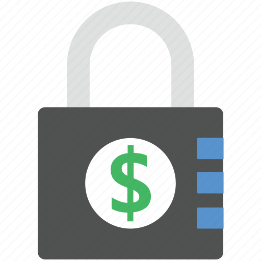 business lock, business protection, lock, padlock, security icon