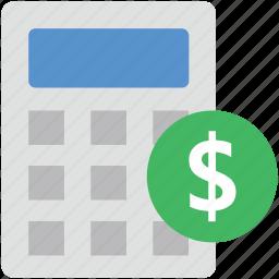 accounting, business calculator, calculating device, digital calculator, math icon