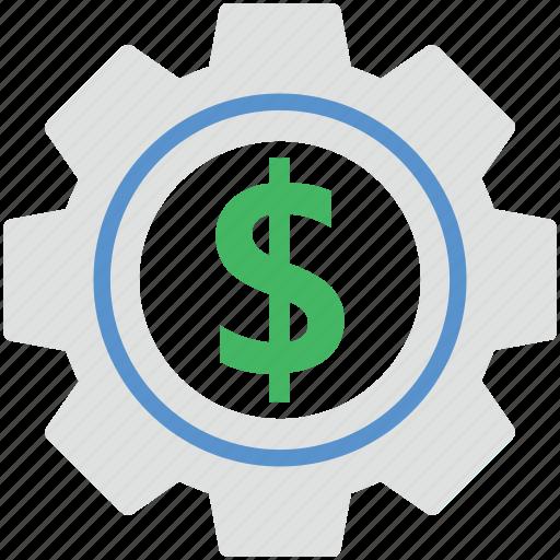 business cog, cog wheel, gear, options, wheel icon
