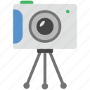 digital camera, easel camera, flash camera, photo camera, photography icon