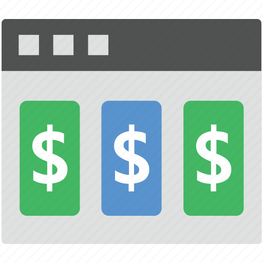 business web, dollar sign, economy, layout, website design icon